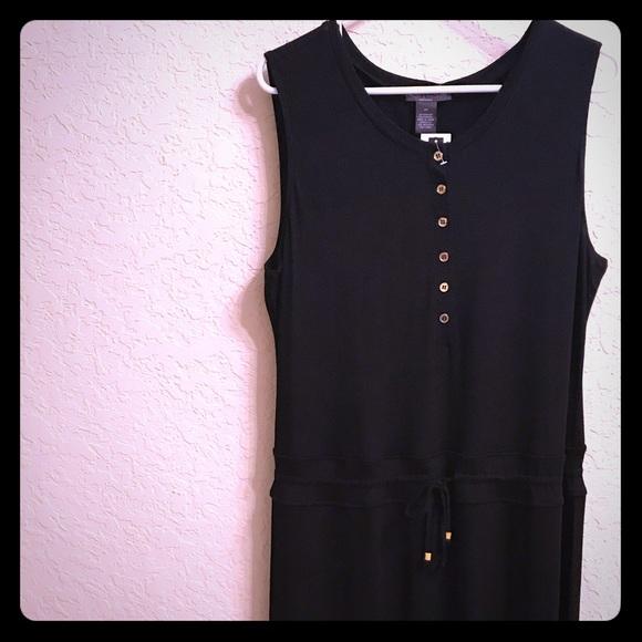 Chelsea Theodore Dresses Chelsea Theodore Xl Black Maxi Dress